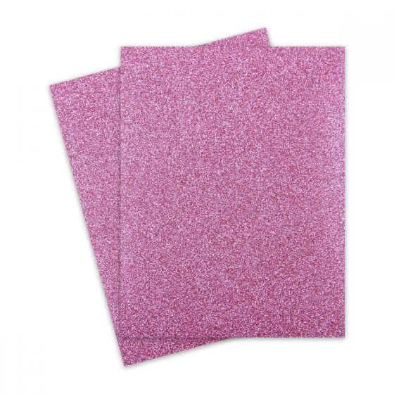Glitter Paper - Glitter ROSE GOLD (1-Sided) 8.5X11 Letter Size - 10 PK [DFS]