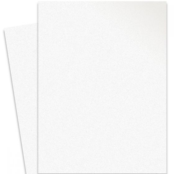 Curious Metallic - ICE SILVER 27X39 Full Size Card Stock Paper 111lb Cover - 100 PK