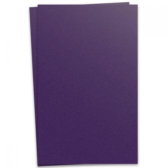 Curious Metallic - VIOLETTE 12X18 Card Stock Paper 111lb Cover - 100 PK [DFS-48]