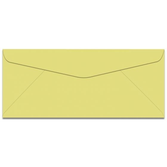 Domtar Colors - Earthchoice No. 6-3/4 Envelopes - CANARY - 500 PK [DFS-48]