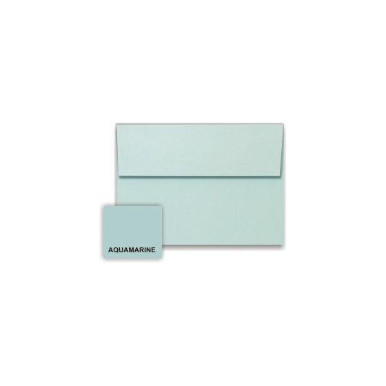 Stardream Metallic - A7 Envelopes (5.25-x-7.25) - AQUAMARINE - 250 PK [DFS-48]