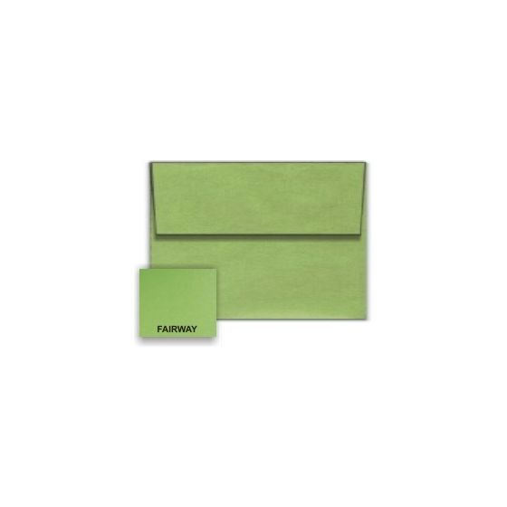 Stardream Metallic - A1 Envelopes (3.625-x-5.125) - FAIRWAY - 25 PK [DFS]