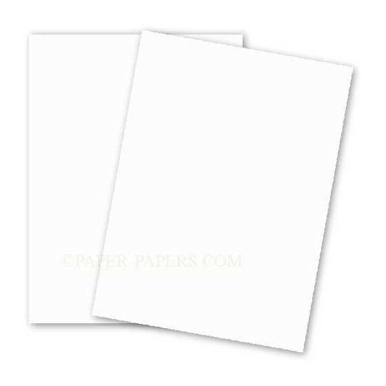 BASIS COLORS - 8.5 x 11 CARDSTOCK PAPER - Natural - 80LB COVER - 100 PK [DFS-48]