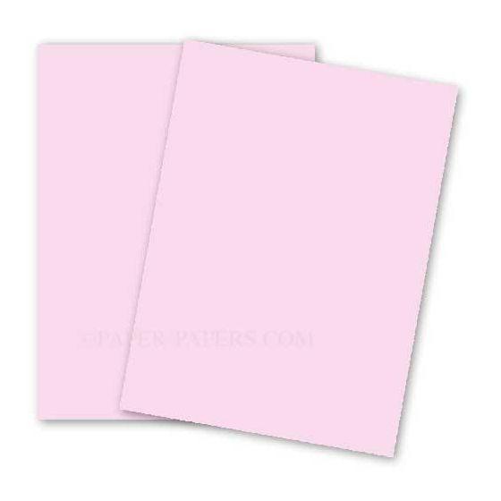 BASIS COLORS - 11 x 17 PAPER - Pink - 28/70 TEXT - 200 PK [DFS-48]