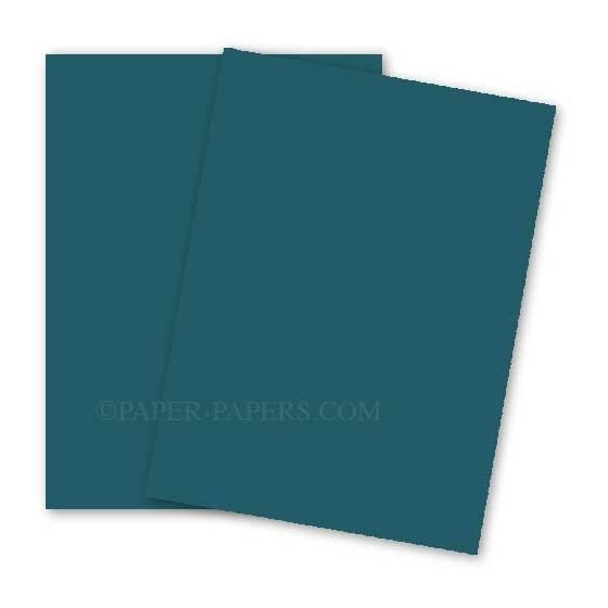 BASIS COLORS - 26 x 40 CARDSTOCK PAPER - Teal - 80LB COVER