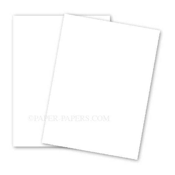 BASIS COLORS - 26 x 40 CARDSTOCK PAPER - White - 80LB COVER - 100 PK