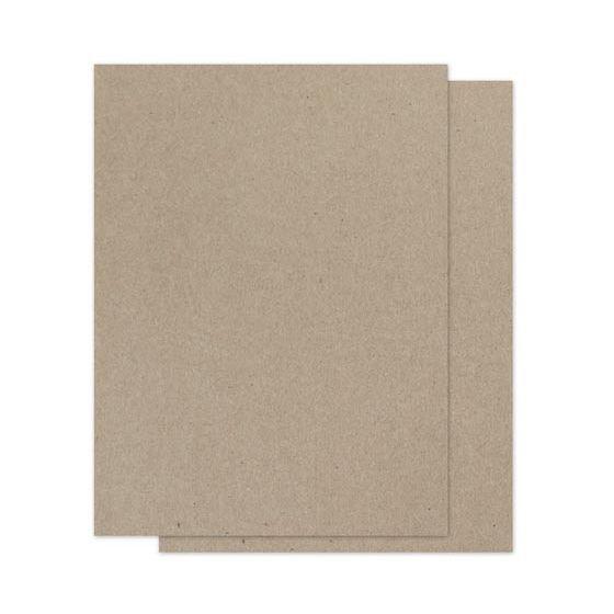 Brown Bag Paper - KRAFT - 25.5 x 39.5 - 130lb DT COVER