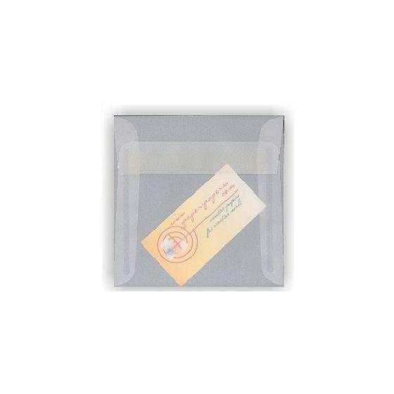 White Translucent (Vellum) - 6 in Square ENVELOPES - 250 PK [DFS-48]