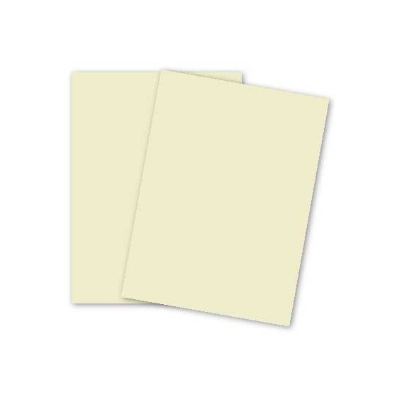 Basic CREAM Paper - 8.5 x 11 - 32/80lb Text (118gsm) - 200 PK [DFS-48]
