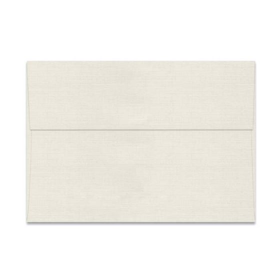 Classic LINEN Natural White (80T/Linen) - A7 Envelopes (5.25-x-7.25) - 1000 PK [DFS-48]