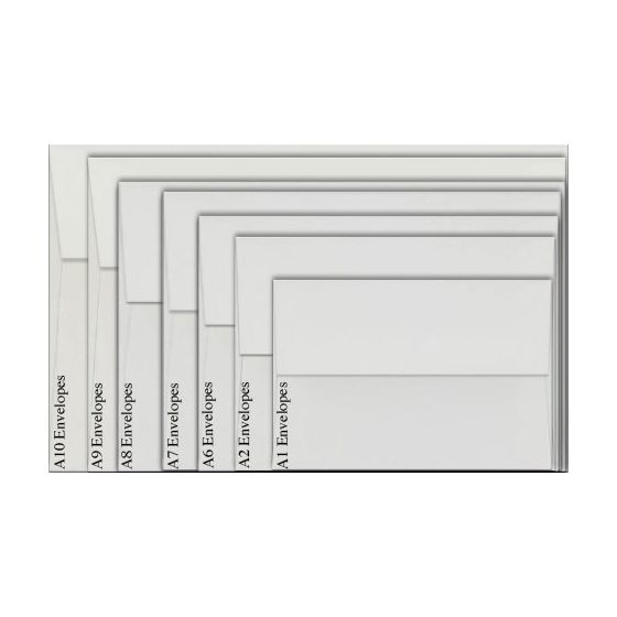 Neenah Environment PC 100 WHITE (80T/Smooth) - A1 Envelopes (3.625 x 5.125) - 2500 PK [DFS-48]