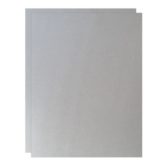 FAV Shimmer Pure Silver - 8.5 x 11 Paper - 81lb Text (120gsm) - 1000 PK [DFS-48]