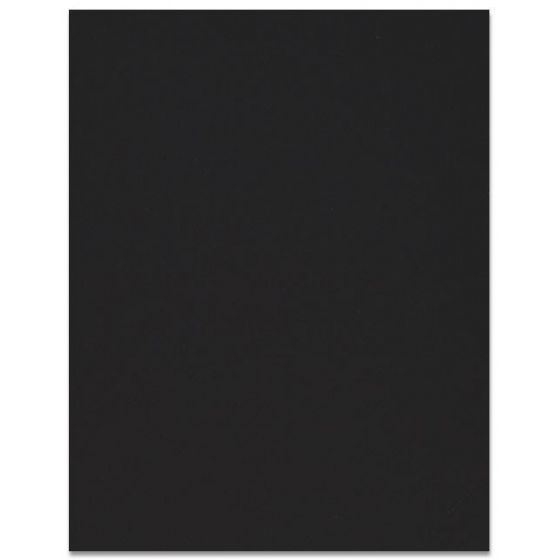Curious SKIN - Black - 8.5 x 11 Card Stock Paper - 100lb Cover - 250 PK [DFS-48]