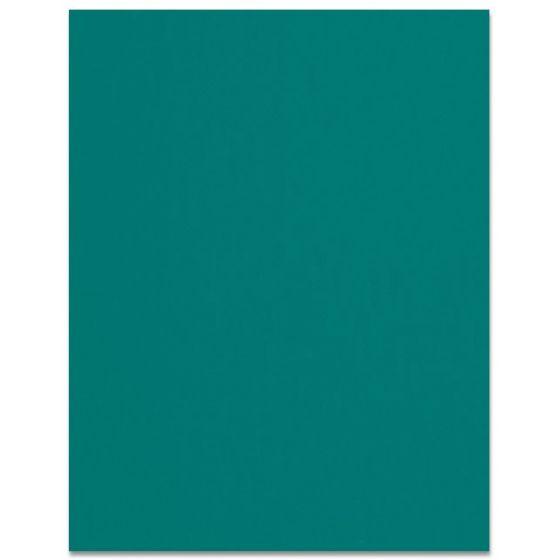 Curious SKIN - Emerald - 8.5 x 11 Card Stock Paper - 100lb Cover - 250 PK [DFS-48]