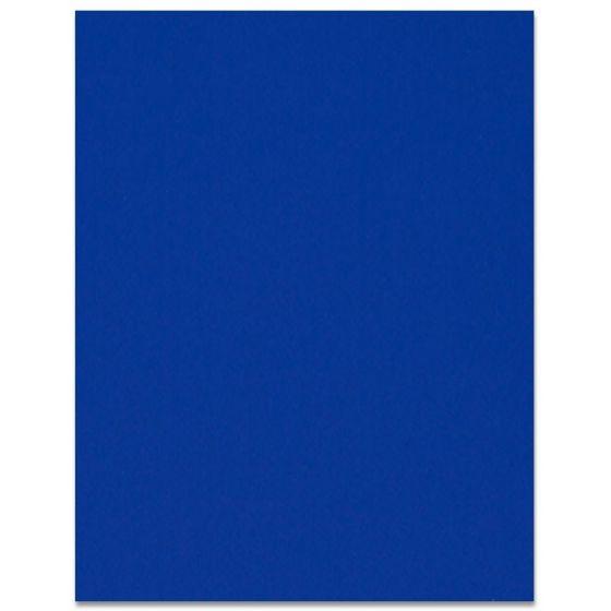 Curious SKIN - Indigo - 8.5 x 11 Card Stock Paper - 100lb Cover - 25 PK [DFS]