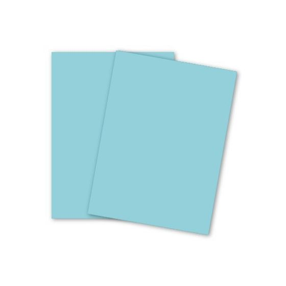 Domtar Colors - Earthchoice BLUE VB Cover - 11 x 17 Cardstock Paper - 67lb VB Cover - 250 PK