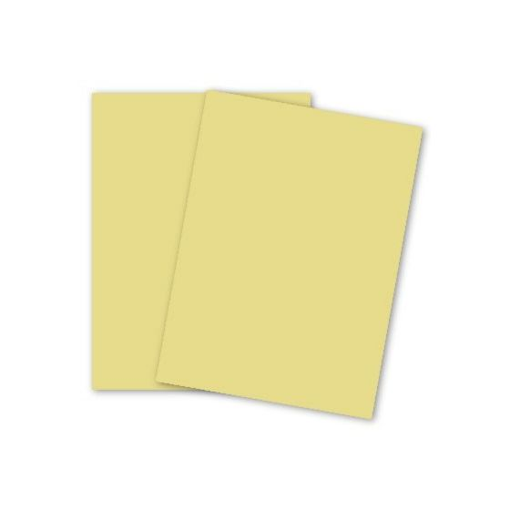 Domtar Colors - Earthchoice CANARY - Opaque Text - 11 x 17 Paper - 24/60 Text - 2500 PK