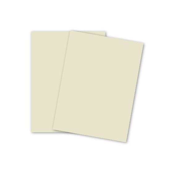 Domtar Colors - Earthchoice CREAM VB Cover - 11 x 17 Cardstock Paper - 67lb VB Cover - 1000 PK