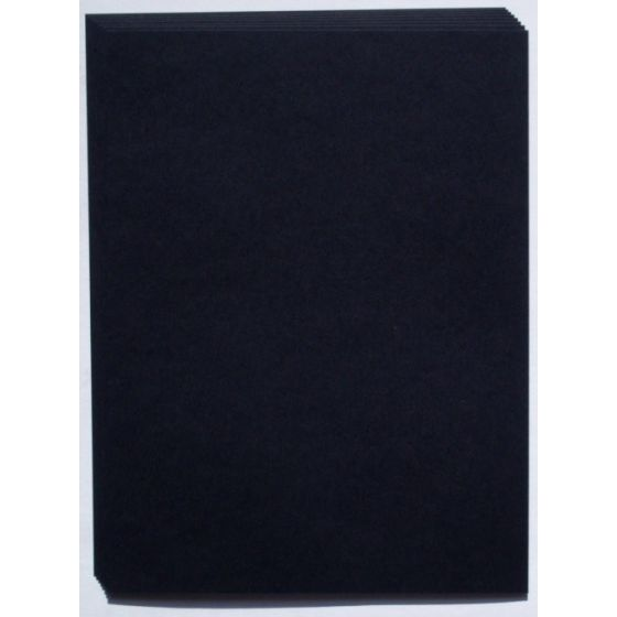 REMAKE Black Midnight (140C/380gsm) 8.5X11 Card Stock Paper - 25 PK [DFS]
