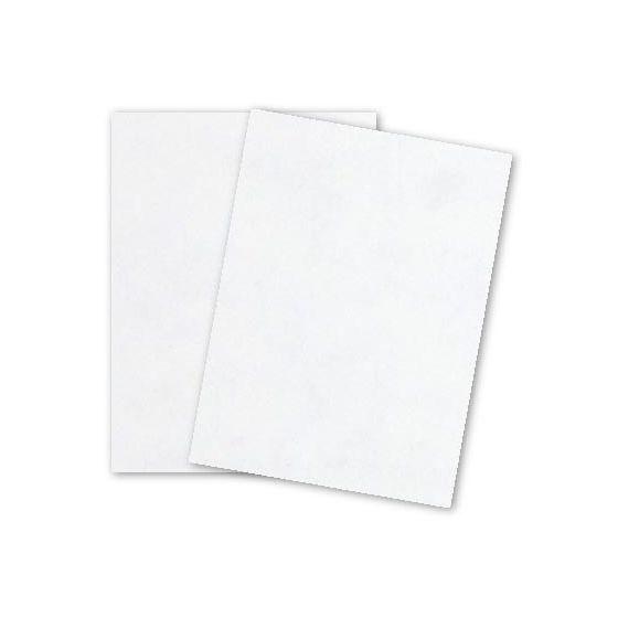 Parchtone WHITE - 12 x 18 Parchment Card Stock - 80lb Cover - 125 PK [DFS-48]