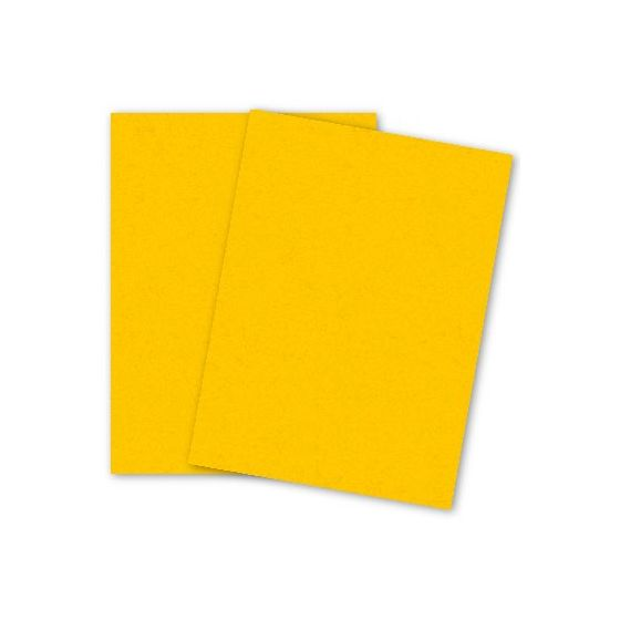 French Paper - POPTONE Lemon Drop - 8.5X11 (65C/175gsm) Lightweight Card Stock Paper - 250 PK [DFS-48]