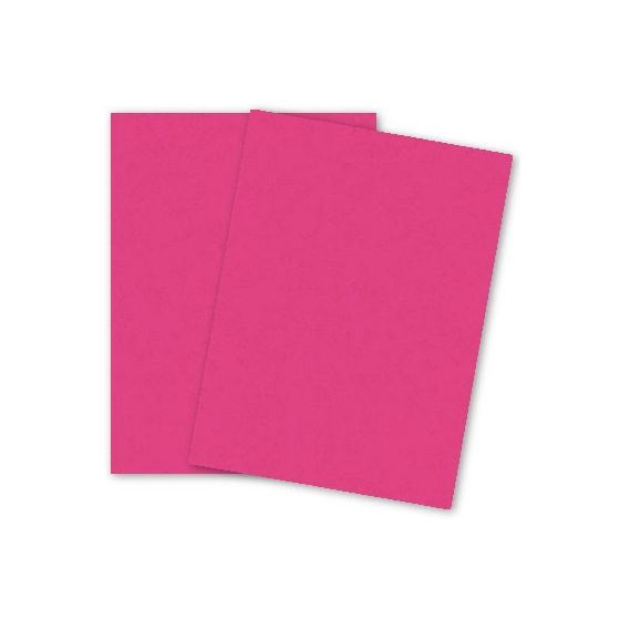 French Paper - POPTONE Razzle Berry - 8.5X11 (70T/104gsm) TEXT Paper - 50 PK [DFS]