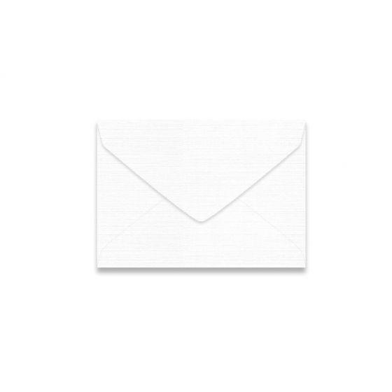 Mohawk VIA Linen - PURE WHITE - 4 BAR Envelopes - 250 PK [DFS-48]