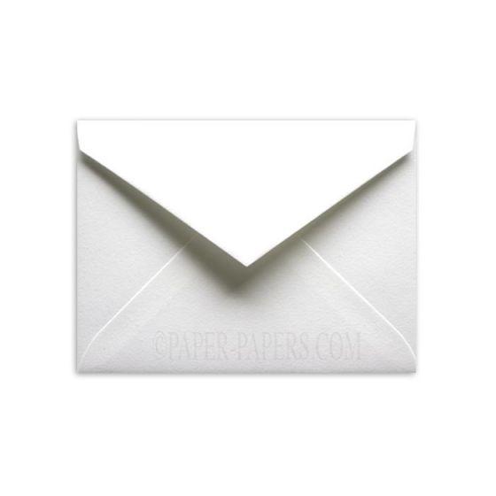 100% Cotton 5-1/2-Bar Envelopes (4.375-x-5.75) - Savoy Brilliant White - 250 PK [DFS-48]
