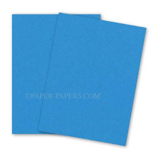 Astrobrights 8.5X11 Card Stock Paper - CELESTIAL BLUE - 65lb Cover - 250 PK [DFS-48]