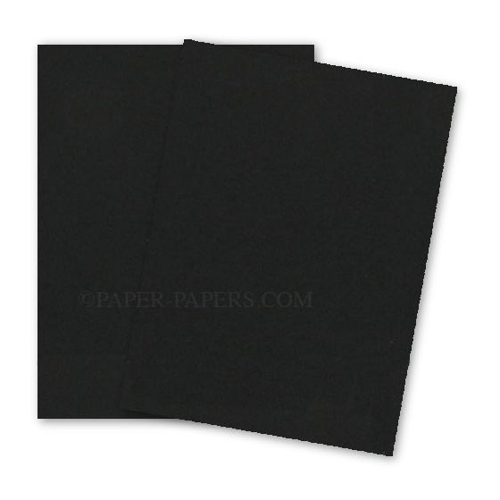 Astrobrights 8.5X11 Card Stock Paper - Eclipse Black - 80lb Cover - 250 PK [DFS-48]