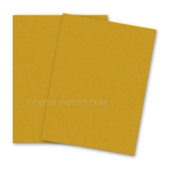 Astrobrights 8.5X11 Card Stock Paper - GALAXY GOLD - 65lb Cover - 250 PK [DFS-48]