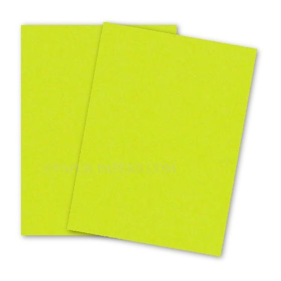 Astrobrights 8.5X11 Card Stock Paper - LIFTOFF LEMON - 65lb Cover - 250 PK [DFS-48]