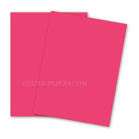 Astrobrights 8.5X11 Card Stock Paper - PLASMA PINK - 65lb Cover - 250 PK [DFS-48]