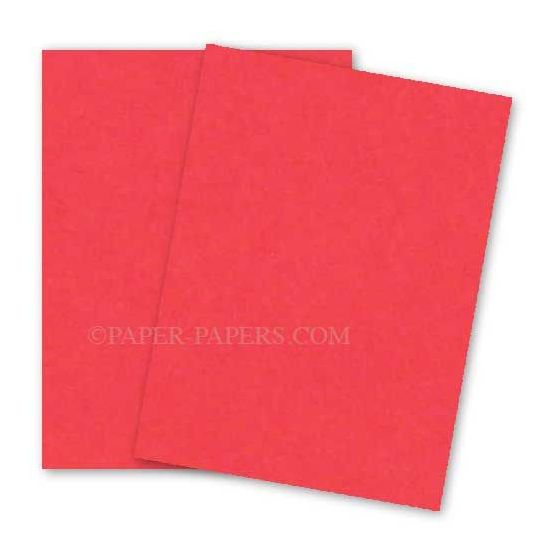 Astrobrights Paper (23 x 35) - 65lb Cover - Rocket Red