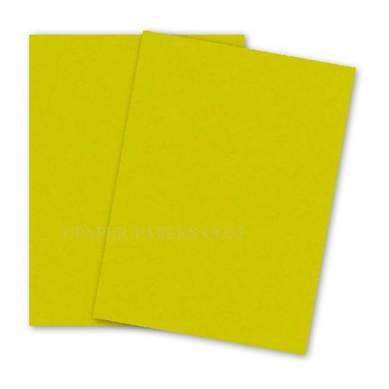 Astrobrights 8.5X11 Card Stock Paper - SOLAR YELLOW - 65lb Cover - 2000 PK