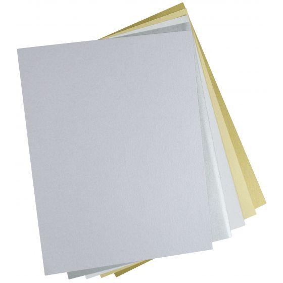 Shine LILAC - Shimmer Metallic Card Stock Paper - 8.5 x 11 - 107lb Cover (290gsm) - 500 PK [DFS-48]