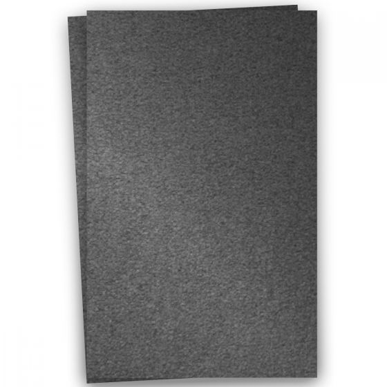 Stardream Metallic - 12X18 Card Stock Paper - ANTHRACITE - 105lb Cover (284gsm) - 100 PK [DFS-48]