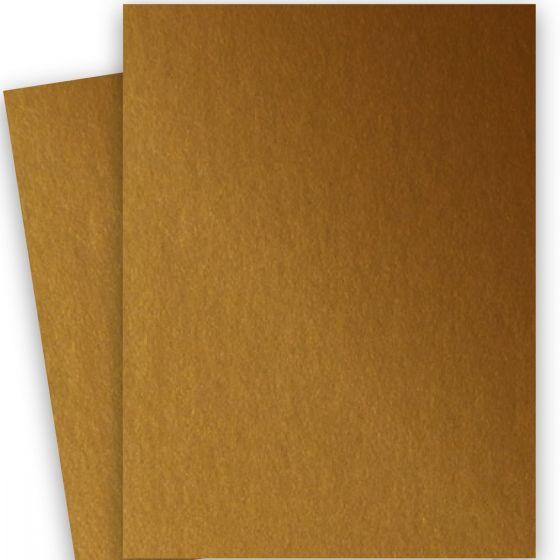 Stardream Metallic - 28X40 Full Size Paper - ANTIQUE GOLD - 81lb Text (120gsm)