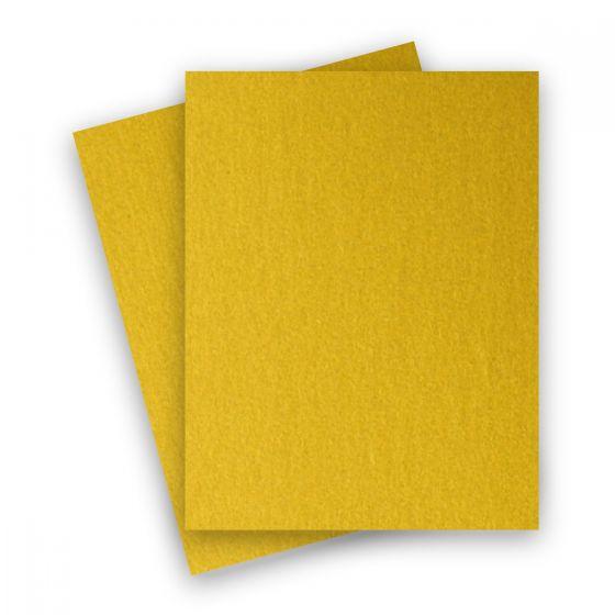 Stardream Metallic - 8.5X11 Paper - FINE GOLD - 81lb Text (120gsm) - 250 PK [DFS-48]
