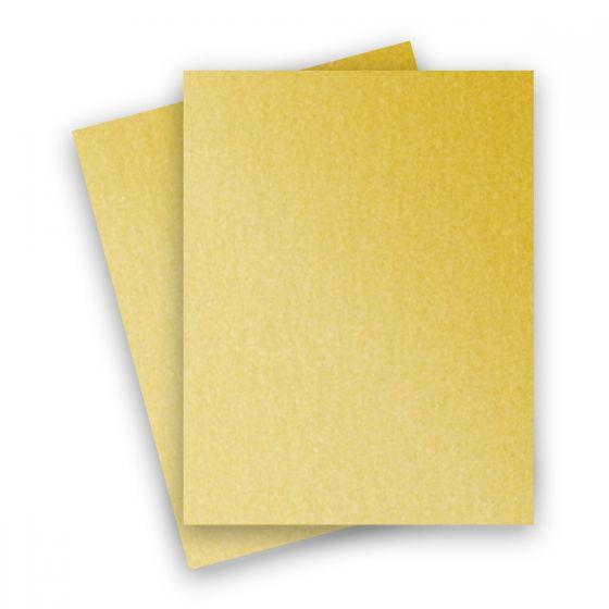 Stardream Metallic - 8.5X11 Paper - GOLD - 81lb Text (120gsm) - 25 PK [DFS]