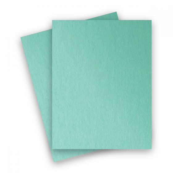 Stardream Metallic - 8.5X11 Card Stock Paper - LAGOON - 105lb Cover (284gsm) - 250 PK [DFS-48]