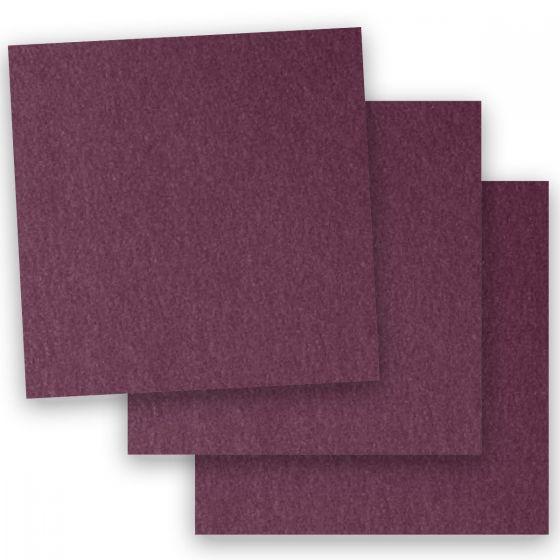 Stardream Metallic - 12X12 Card Stock Paper - RUBY - 105lb Cover (284gsm) - 100 PK [DFS-48]