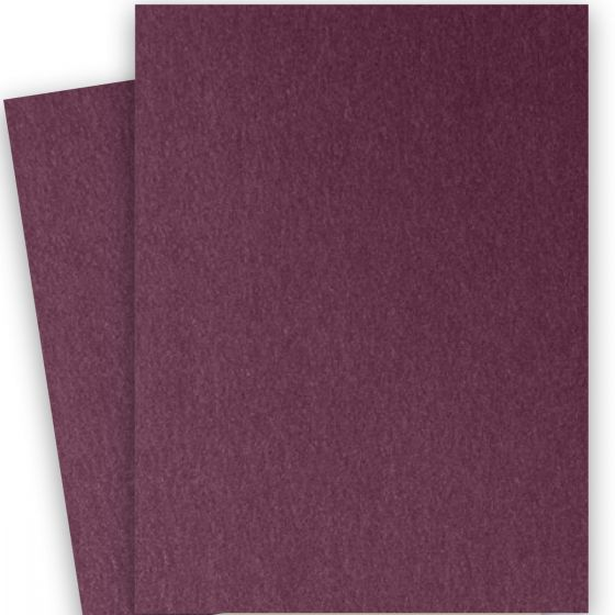 Stardream Metallic - 28X40 Full Size Paper - RUBY - 105lb Cover (284gsm) - 100 PK