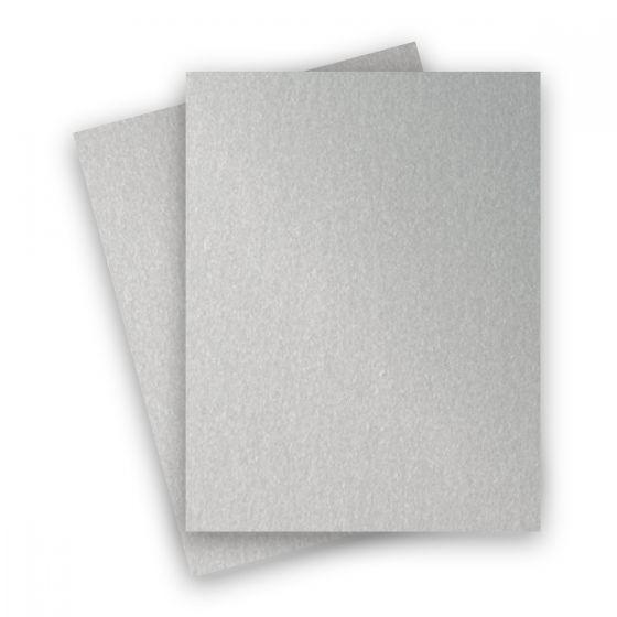 Stardream Metallic - 8.5X11 Card Stock Paper - SILVER - 105lb Cover (284gsm) - 25 PK [DFS]