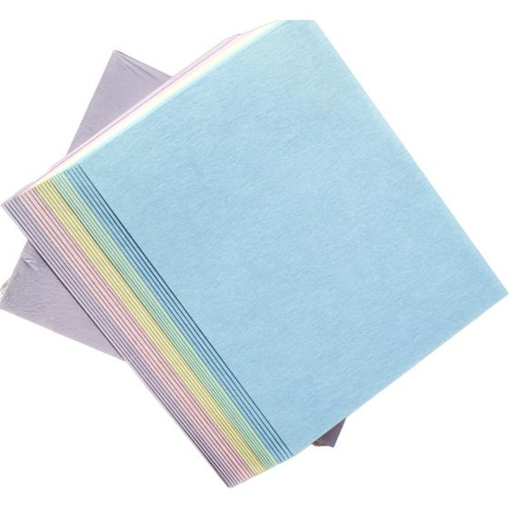 Soft Shade Sensations Variety Pack - Assorted Card Stock Paper 8.5-x-11-inches - (5 color / 10 sheets each)  - 50 PK [DFS]