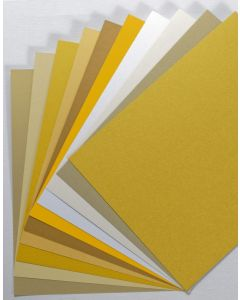 FAVORITE PAPERS - Gold - 8.5 x 11 Cardstock - TRY-ME Pack [DFS]