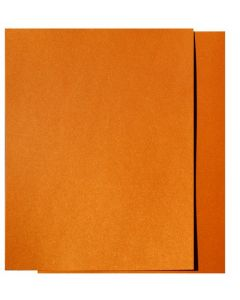 FAV Shimmer Orange Gold Fusion - 8.5 x 11 Card Stock Paper - 107lb Cover (290gsm) - 25 PK [DFS]