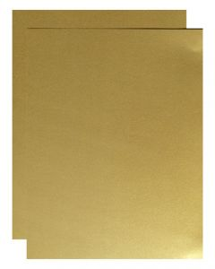 FAV Shimmer Pure Gold - 8.5 x 11 Paper - 81lb Text (120gsm) - 25 PK [DFS]