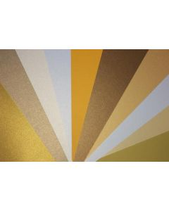 FAVORITE PAPERS - Gold - 8.5 x 11 Cardstock --MULTI-PACK-- [DFS]