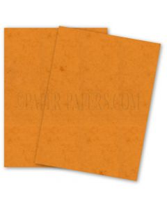 DUROTONE Butcher ORANGE - 12X18 Card Stock Paper - 80lb Cover - 100 PK [DFS-48]